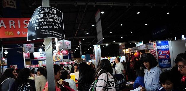 INCLUSION DE LAS LIBRERIAS EN LA MODIFICACION DE LA LEY DE IVA